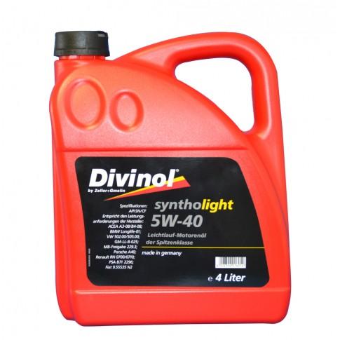 Ulei motor auto Divinol, 5W-40, 4 L