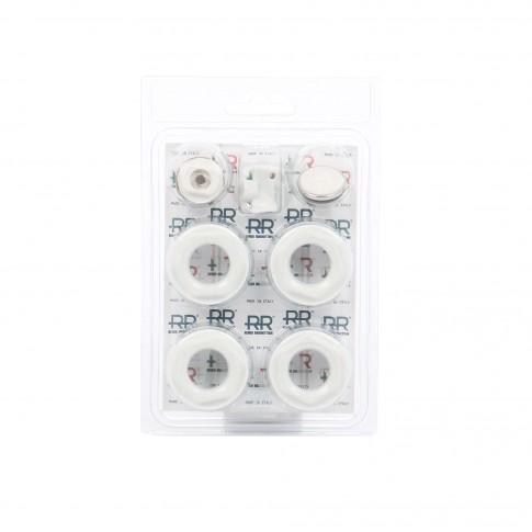 Kit calorifer aluminiu Remer 545, alb, 11 elemente