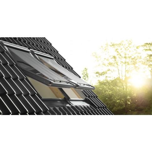 Rulou exterior tip parasolar fereastra mansarda Velux MHL M00-MK00 5060, negru