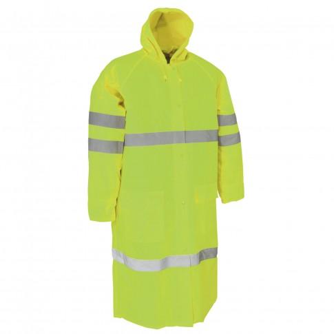 Pelerina ploaie Dalgeco Turpan, PVC, galben, marimea XL