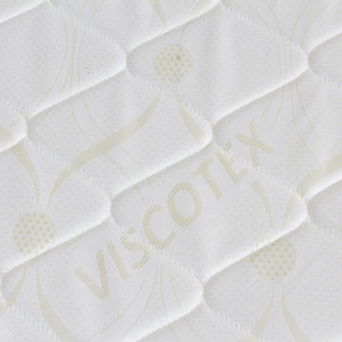 Saltea pat Viscotex superortopedica, 1 persoana, cu spuma poliuretanica, cu arcuri, 80 x 200 cm