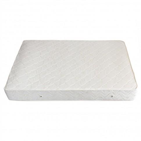 Saltea pat Viscotex superortopedica, cu spuma poliuretanica, cu arcuri, 130 x 190 cm
