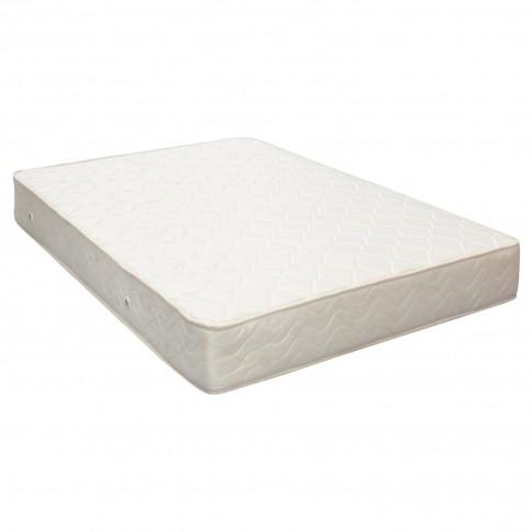 Saltea pat Viscotex superortopedica, 1 persoana, cu spuma poliuretanica, cu arcuri, 120 x 200 cm