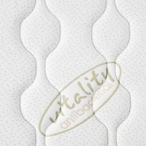 Saltea pat Magniflex Vitality, ortopedica, 140 x 200 cm, cu spuma memory + gel, fara arcuri