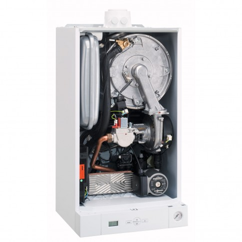 Centrala termica pe gaz, cu condensare, Viessmann Vitodens 050-W BPJD053, 33 kW + kit evacuare