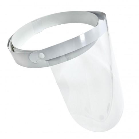 Viziera de protectie pentru fata HPK-01, cu inchidere reglabila, film poliester transparent, 2 bucati / cutie