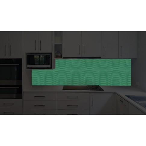 Panou decorativ bucatarie Splashback, compozit, luminescent, SPB 067, abstract, 2600 x 750 x 3 mm