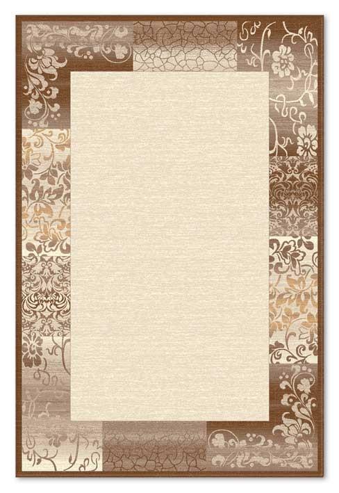 Covor living / dormitor Carpeta Delta 61801-43231 polipropilena heat-set dreptunghiular crem 120 x 170 cm