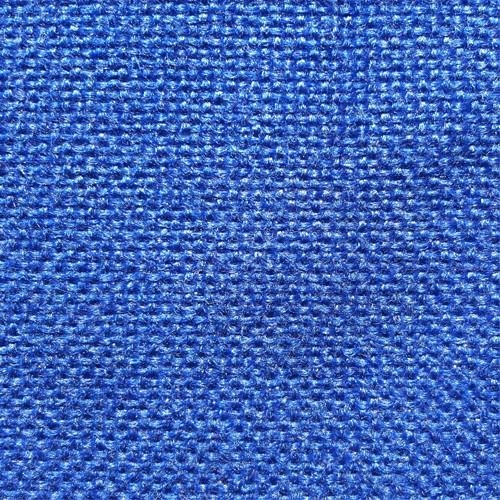 Scaun birou vizitator Felicia, fix, stofa C06, albastru