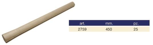 Coada din lemn pentru ciocan dulgher  2759