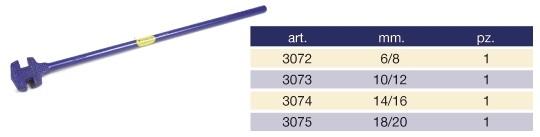 Cheie pentru fierar betonist, 14 - 16, Toper 3074
