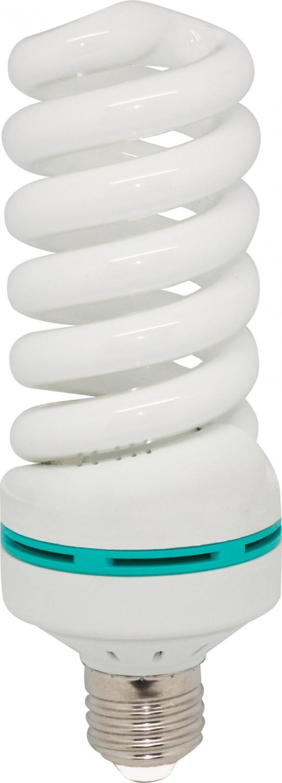 Bec economic E27 Hepol Polar spiralat 55W lumina calda