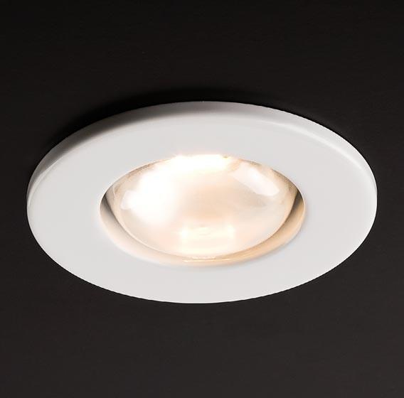 Spot incastrat FR 63 70052, E27 / R63, alb