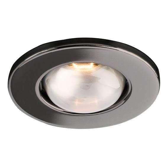 Spot incastrat FR 63 70056, E27/R63, negru