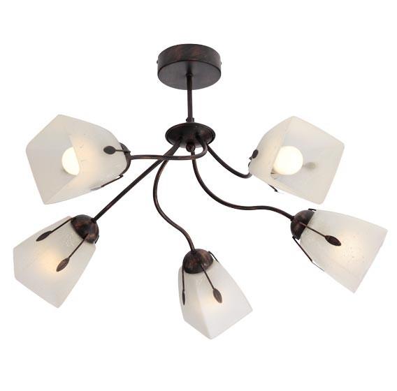 dedeman flavia lustra 5xe27 02 588 lustre si candelabre corpuri de iluminat dormitoare. Black Bedroom Furniture Sets. Home Design Ideas