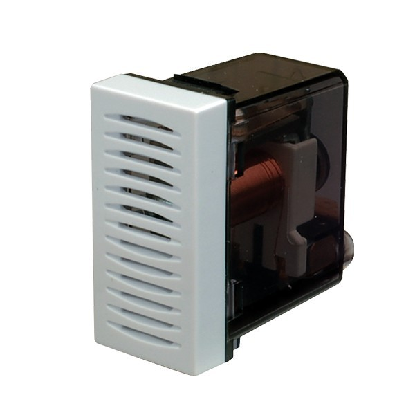 Sonerie electromecanica Esperia 300545, montaj incastrat, alba, IP20, 230V