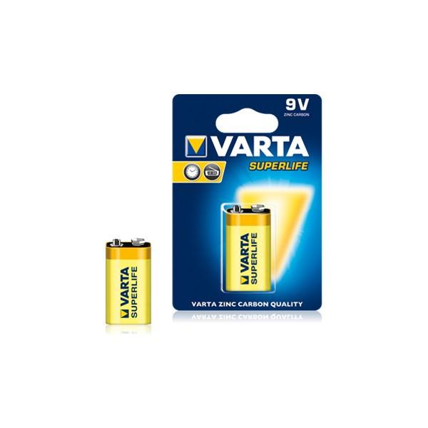 Baterie Varta Superlife 2022, 9 V, Zinc-Carbon