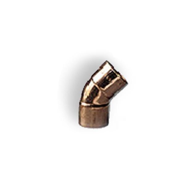 Curba cupru, 45 grade, interior-interior, D35 mm, 5041