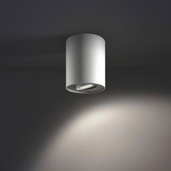 Spot LED Hue Pillar 5633031P7, 1 x GU10, 5.5W alb + intrerupator