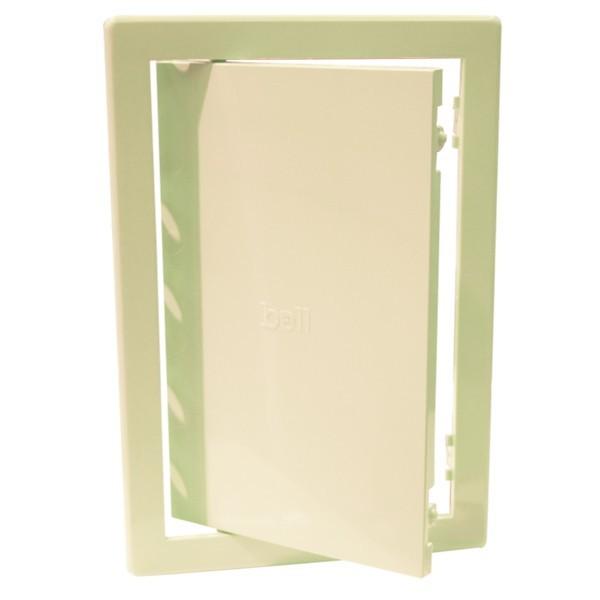 Usita vizitare, pentru instalatii sanitare, Bellplast, bej, 30 x 30 cm