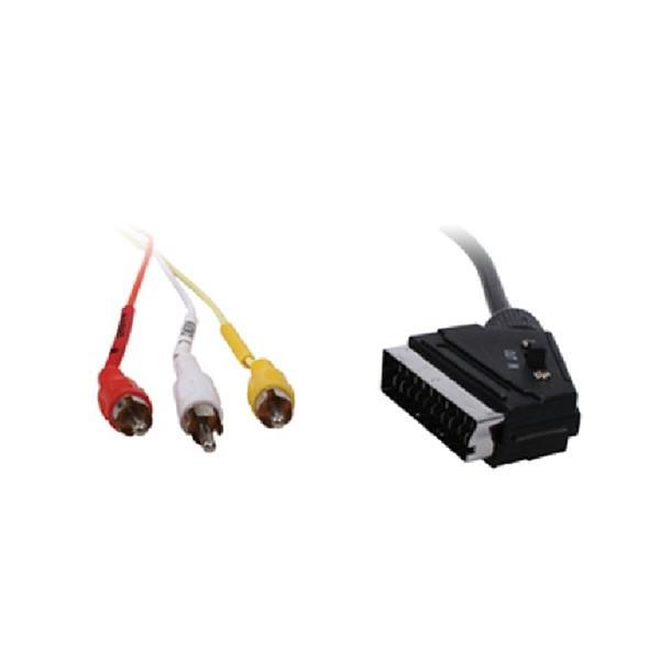Cablu scart 21 p - 3 RCA tata SCART 32-BW VLVP31130B20