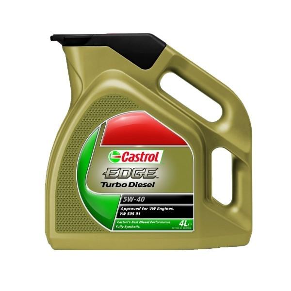 Ulei Castrol edge turbo diesel 5W40 4l