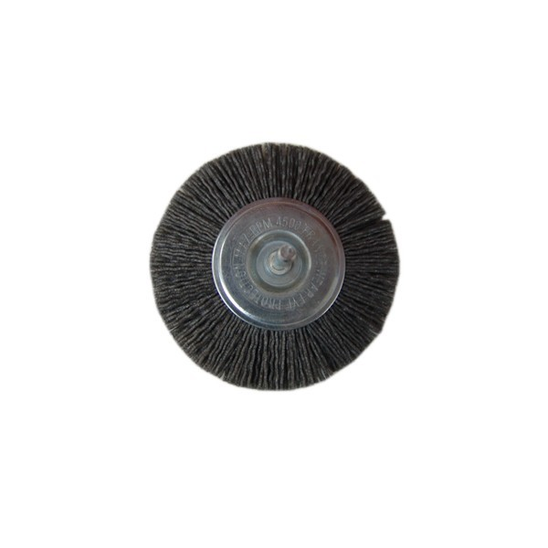 Perie circulara cu tija  D100  5147V pentru metale moi, aluminiu, inox