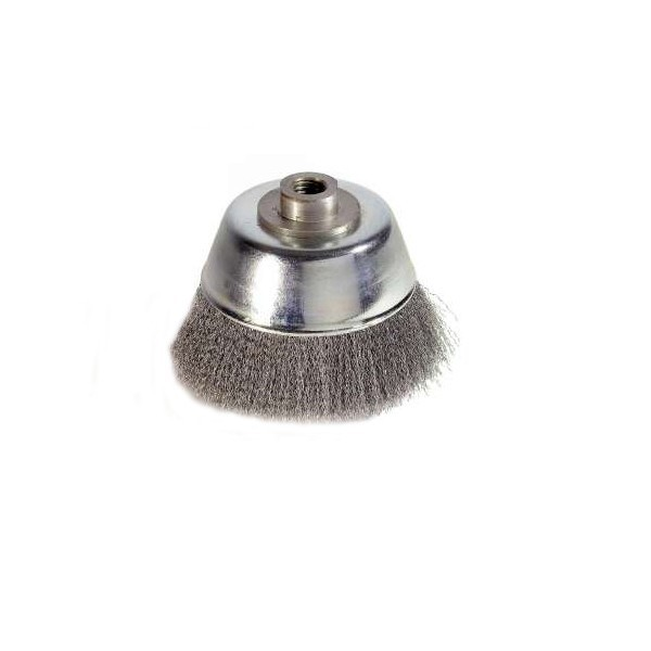 Perie cupa D80  alezaj M14  5422 pentru metale, piatra, lemn