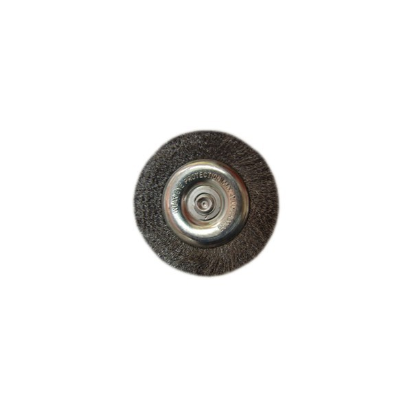 Perie cupa, cu tija, pentru metale moi, peromex 5135G, diametru 75 mm