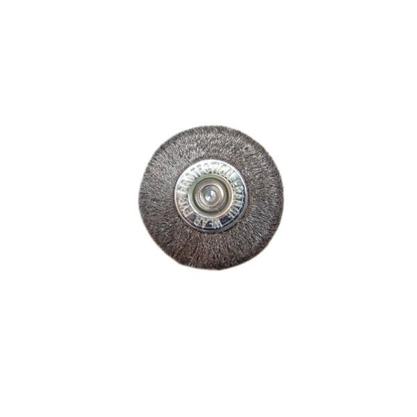 Perie circulara, cu tija, pentru metale moi, Peromex 714104G, diametru 50 mm