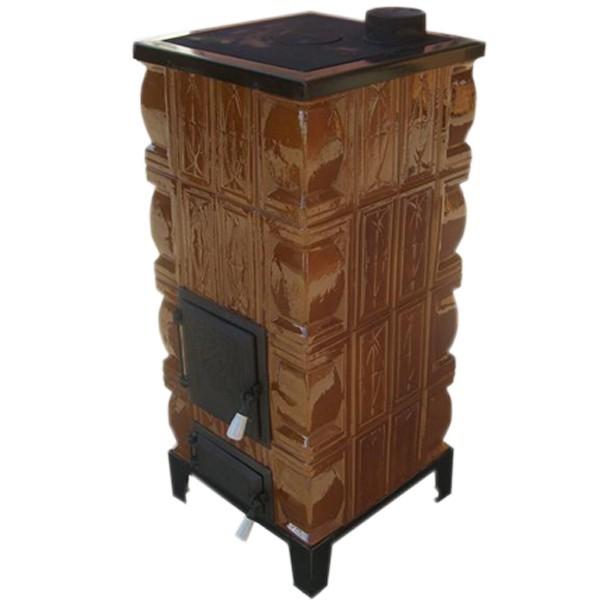 dedeman soba teracota pe lemne aba cu plita 7 kw 1080