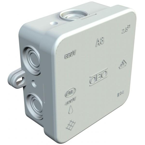 Doza derivatie goala 2000016, IP54, 75 x 75 x 36 mm