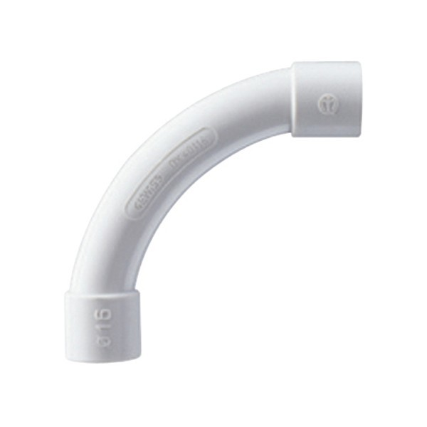 Curba pentru tub rigid, D 20 mm, Gewiss DX40120