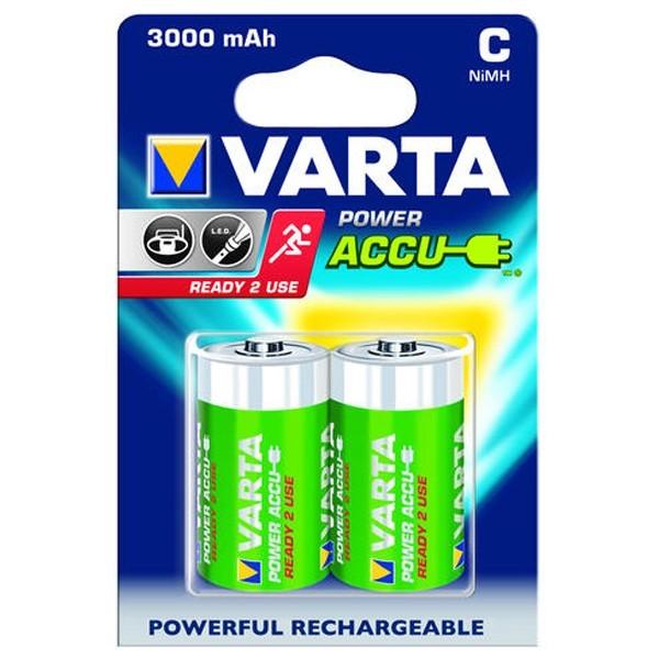 Acumulator Varta Power 56714, R14, 3000 mAh, 2 buc