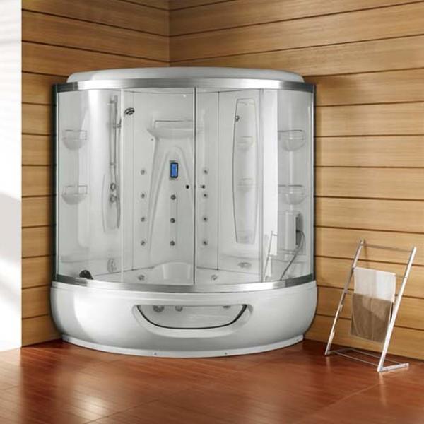 Dedeman cabina sauna k 524 1580x1580x2250 logi dedicat for Cabina sauna