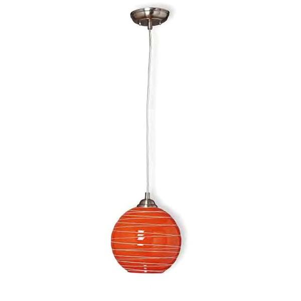 Ball 1 suspensie portocaliu 1XE27 KL 0791