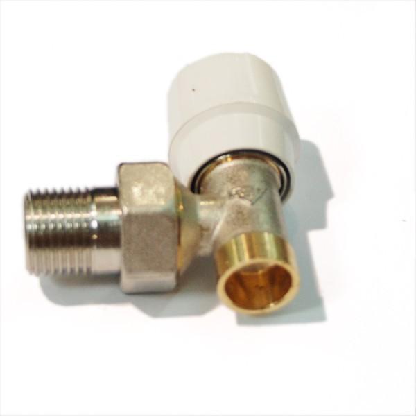 Robinet coltar tur fara RFS, pentru radiator, RBM, 1550420, filet, D 15 mm x 1/2 inch