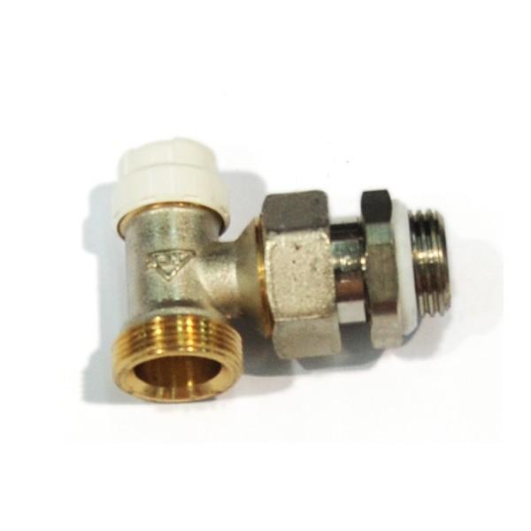 Robinet colt retur cu RFS, pentru radiator, RBM, 5640400, filet, D 1/2 inch