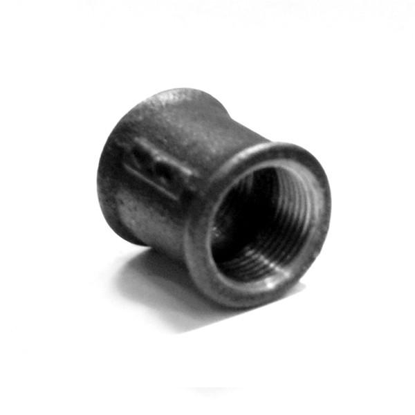 Mufa fonta neagra 270, filet interior-interior, 11/4 inch