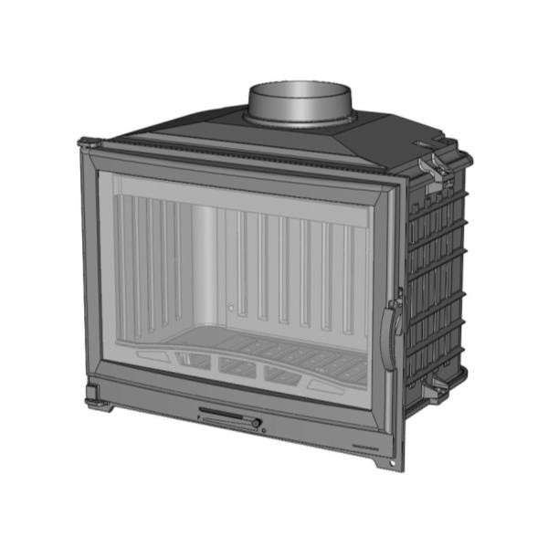 Focar semineu Chazelles D70 9,5 kW