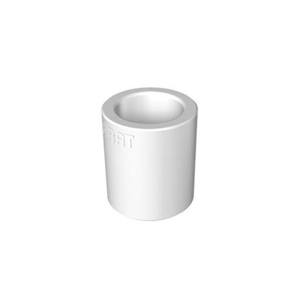 Mufa PPR, D 63 mm, alb