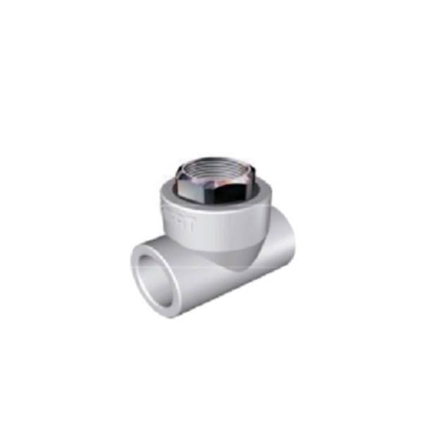 Teu PPR, FI, D 25 mm x 1/2 inch, alb