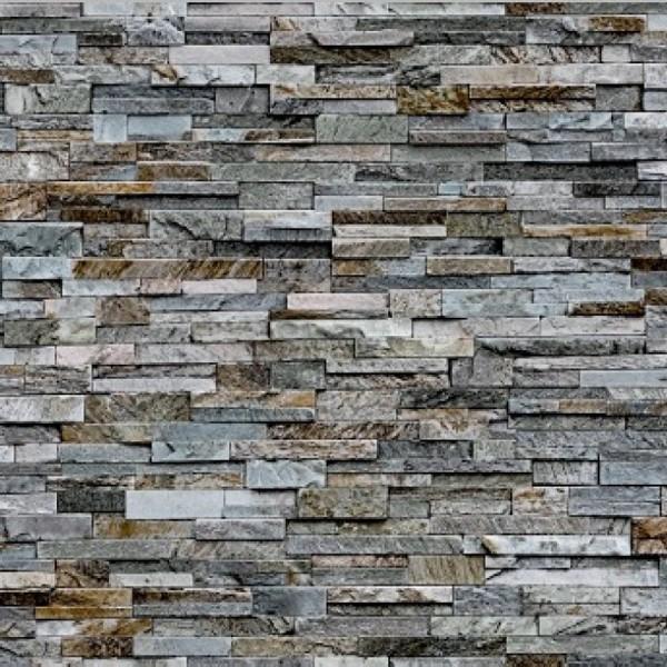 Tapet vinil, model piatra, Ceramics Stone grau 0161-270 20 x 0.675 m