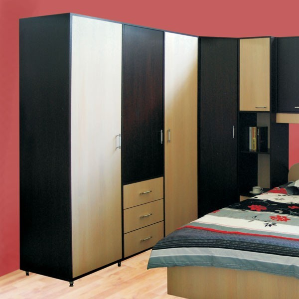 Dormitor Anda - dulap wenge+fag