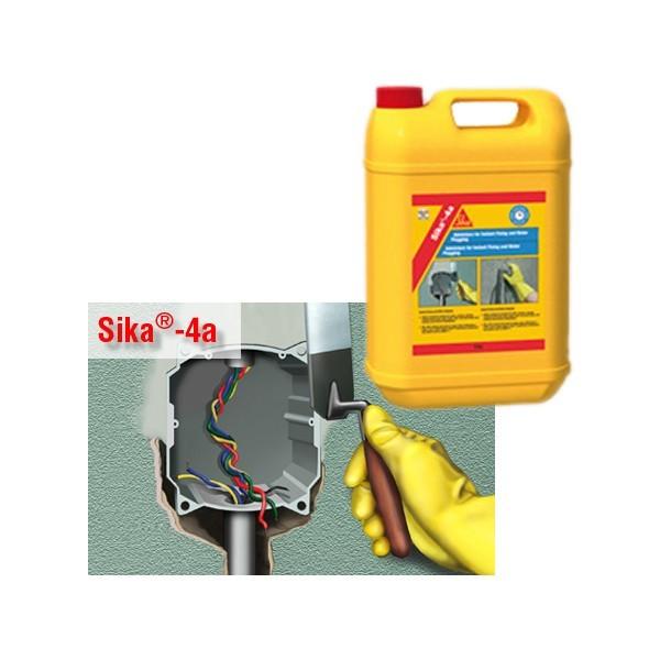 Aditiv pentru betoane si mortare, Sika 4A, 5 kg