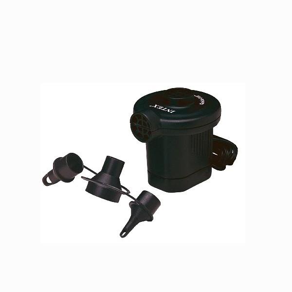 Pompa aer pentru produse gonflabile, electrica 220 V, Intex 66620 + 3 adaptoare