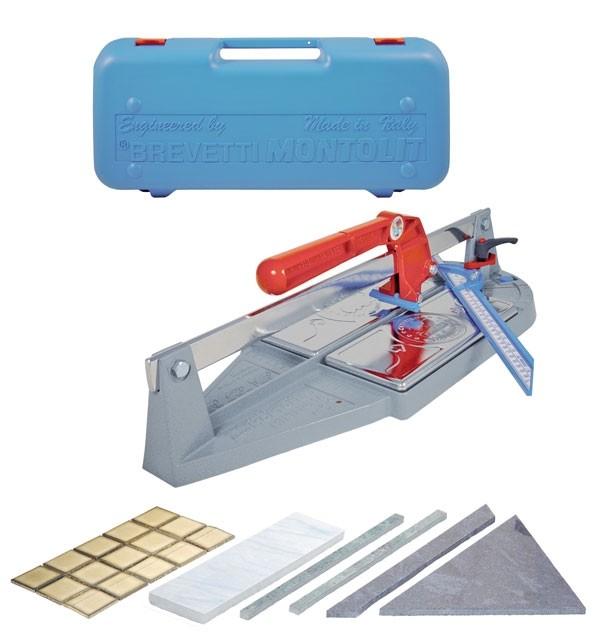 Masina de taiat gresie si faianta, Montolit  43PB + cutie plastic