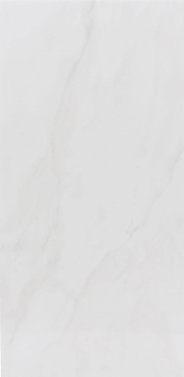 Faianta baie / bucatarie Marmara rectificata alba lucioasa 29.3 x 59.3 cm