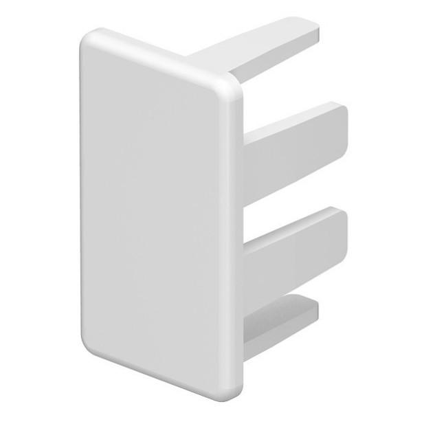 Piesa capat WDK 6193102, 15 x 30 mm, alb