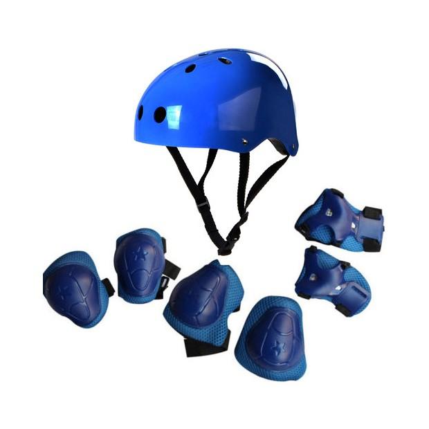 Echipament de protectie pentru copii, albastru